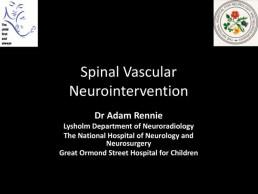 Spinal Vascular Neurointervention
